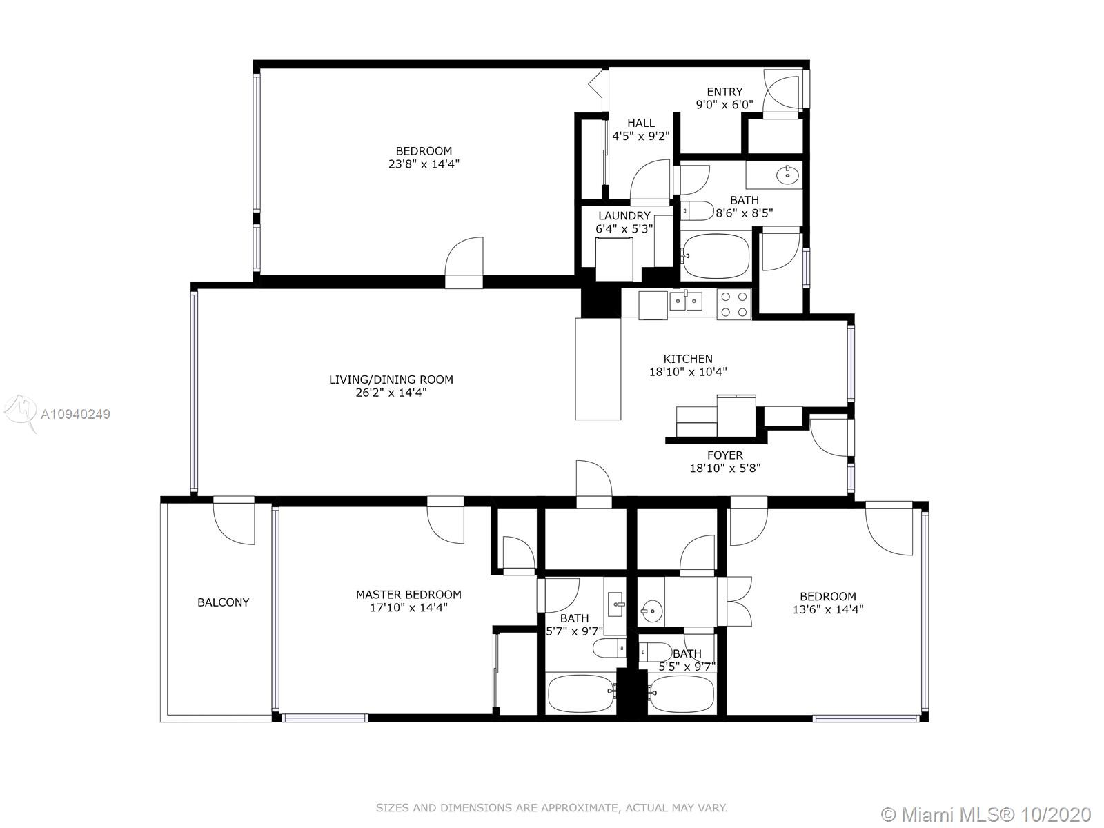 10240  Collins Ave   307/306